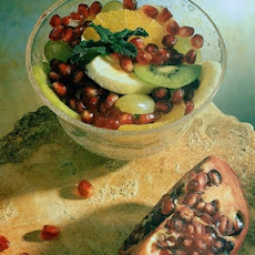 Fruit Medley with Pomegranate Seeds
