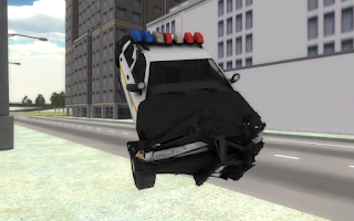Screenshot of Fast Police Car Driving 3D