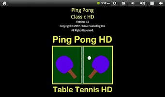 Screenshot of Ping Pong Classic HD