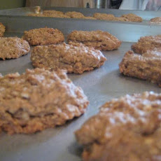 Vegan Banana Oat Cookies