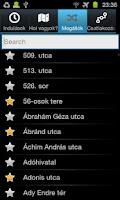 Screenshot of iTransit BUD