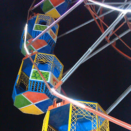 Giant Wheel by Maqsud Devdiwala - City,  Street & Park  Amusement Parks