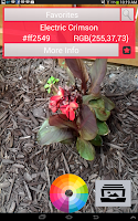Screenshot of Color Capture & Identifier