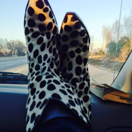 These Boots are Made for Traveling by Debi Brooks - Artistic Objects Clothing & Accessories ( artistic, object )