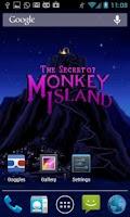 Screenshot of Monkey Island Live Wallpaper3d