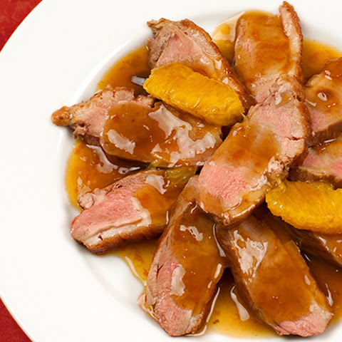 Boneless Duck Breast a l'Orange