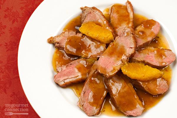 Boneless Duck Breast a l'Orange Recipe | Yummly