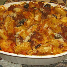 Baked Rigatoni With Kalamata Olives