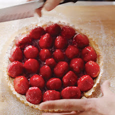 Strawberry Tarts With Cream