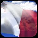 3D Malta Flag + icon