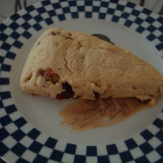 Kittencal's Jumbo Bakery Shop Blueberry Sour Cream Scones