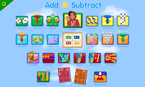Starfall FREE APK screenshot thumbnail 6