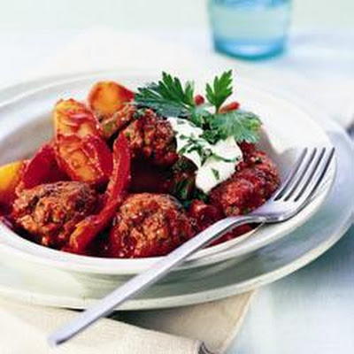 Hungarian-style Meatballs