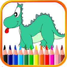 Dino Coloring for kid
