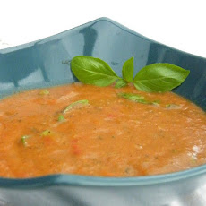 Roast Vegetable & Tomato Soup with Basil
