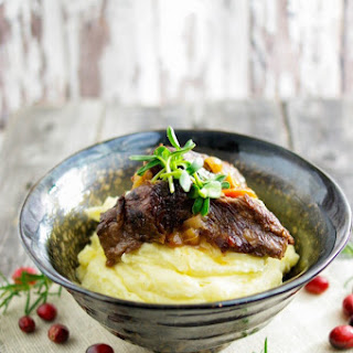 Tender Cranberry and Bourbon Pot Roast