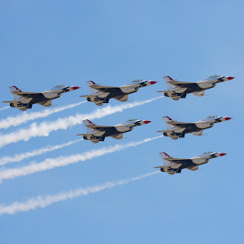 Perfect! by Ron Mullins - Transportation Airplanes ( airplanes, aircraft, usaf, airshow, thunderbirds )