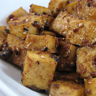 Sesame-Maple-Ginger Tofu