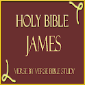 HOLY BIBLE: JAMES, STUDY APP icon