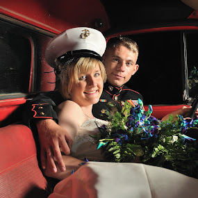 Fosters by Dennis McClintock - Wedding Bride & Groom ( wedding, transportation, bride and groom, bride, groom )