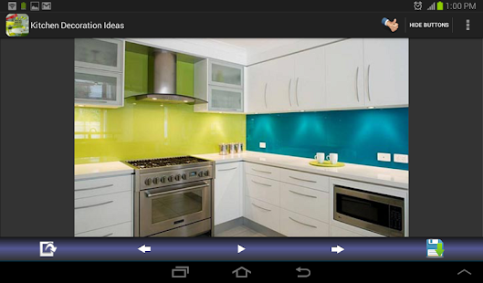 App kitchen decoration ideas apk for windows phone for Kitchen ideas app
