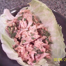 Chicken Wraps With Nam Jihm Dressing