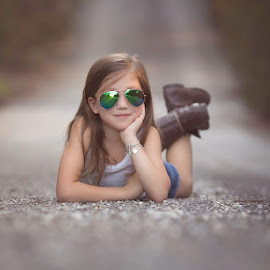 by Emma Stasko - Uncategorized All Uncategorized ( girl, protrait, sunglasses )