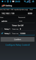 Screenshot of PLC 2 relay remote control net