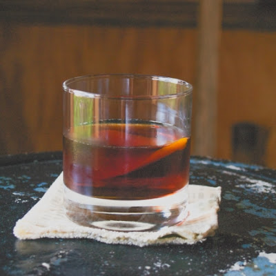 Backyard Boulevardier & Smoked Bourbon