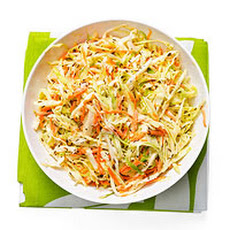 Green Cabbage Coleslaw
