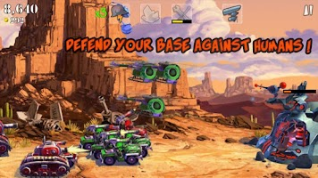 Screenshot of Army Vs Aliens Defense