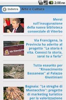 Screenshot of Occhio Viterbese Tutte le news