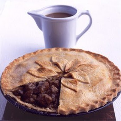 Mum's Steak and Kidney Plate Pie