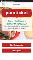 Screenshot of YumTicket