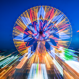 Light speed by Keith Homan - City,  Street & Park  Amusement Parks