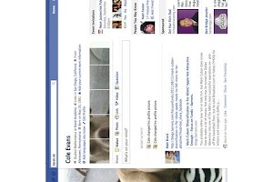 Screenshot of Facetile Facebook Profile Edit