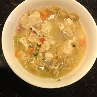 Hot and Spicy Chicken Noodle Soup