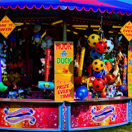 Hook A Duck by Nic Scott - City,  Street & Park  Amusement Parks ( funfair, hook a duck, fair )