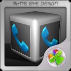 Silver Cube Theme 4 GoLauncher icon
