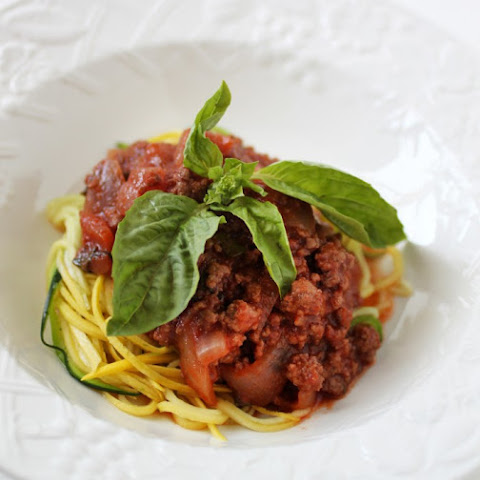 Spaghetti with Red Wine Sauce