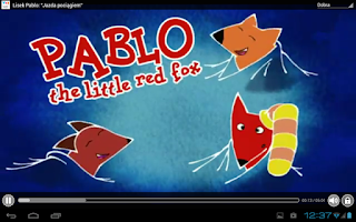 Screenshot of VoD Bajki