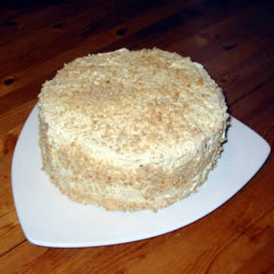 Filipino Cashew Meringue Layer Cake
