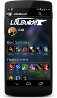 Screenshot of LoLBuilder.net Diamond Builds