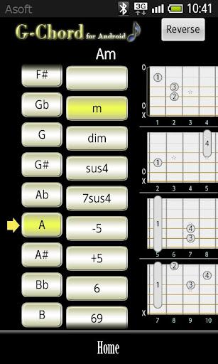 GChord(吉他)