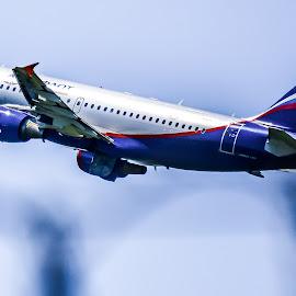 aeroflot by Eseker RI - Transportation Airplanes (  )