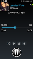 Screenshot of Digital Call Recorder