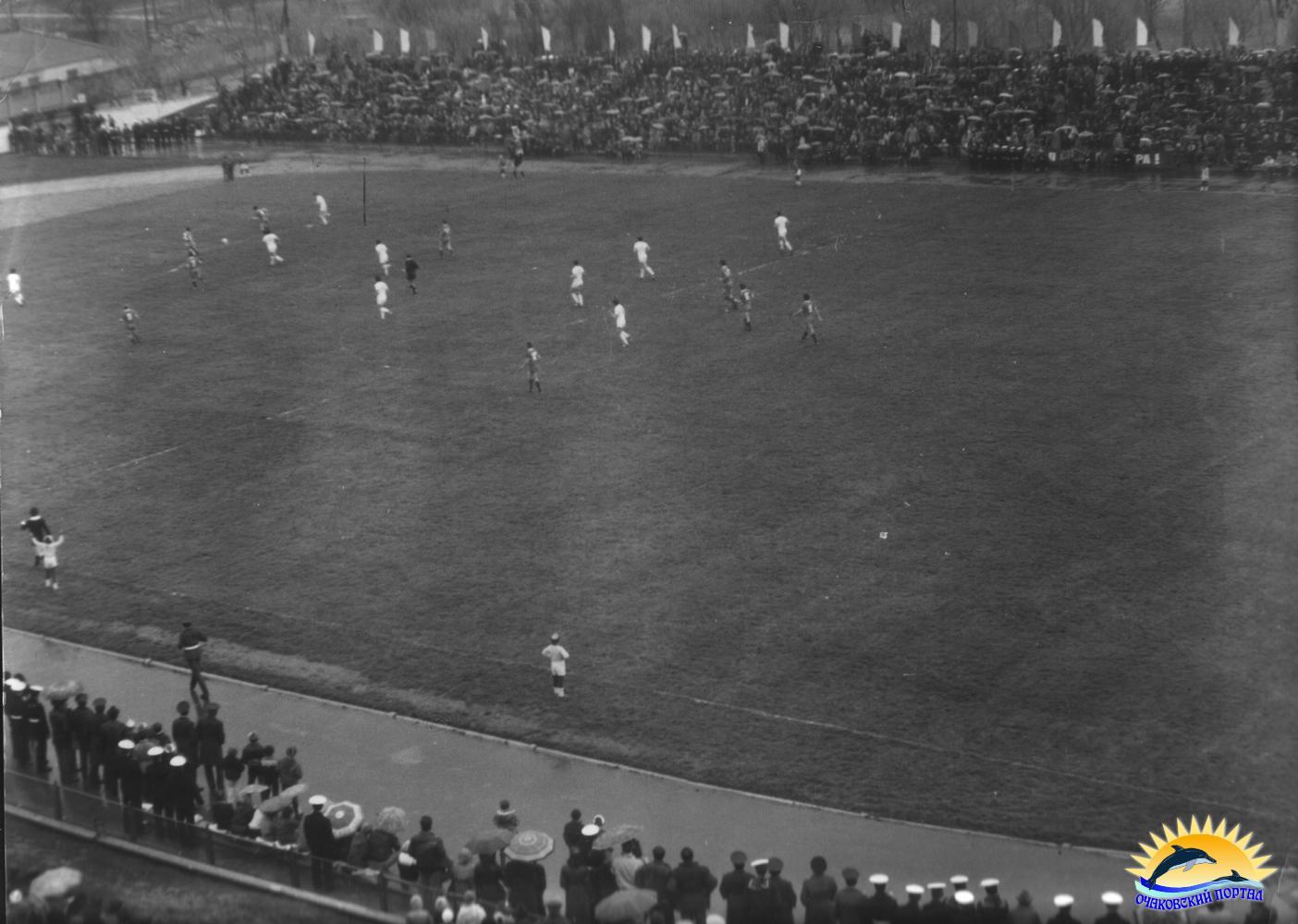 Очаков. 1 мая 1987 г. Открытие стадиона