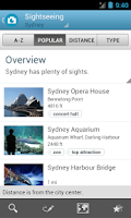 Screenshot of Sydney Travel Guide by Triposo