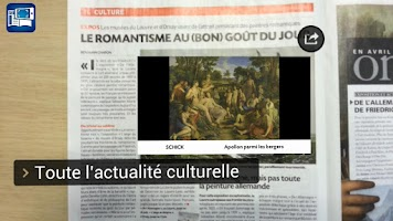 Screenshot of 20 Minutes, journal augmenté