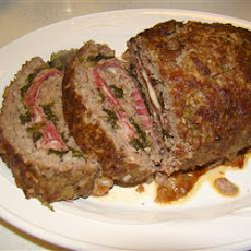 Da Beef Lover's Half Time Stuffed Meatloaf